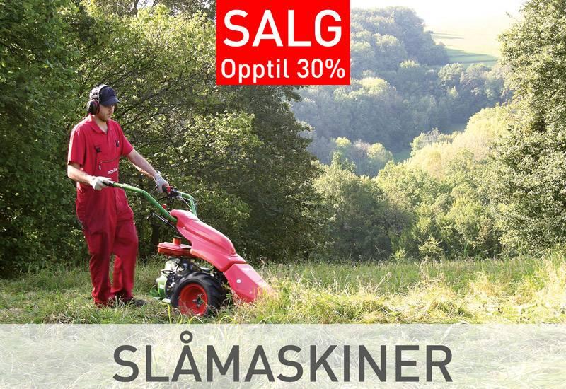 Agria Slåmaskiner salg tilbud billig